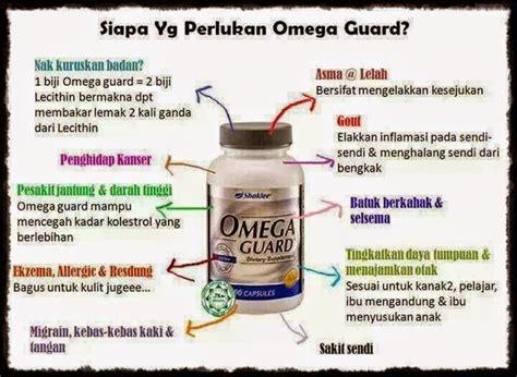 Vitamin Omega Guard kebaikan dan keistimewaan omega guard shaklee