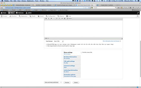 drupal theme node edit form vertical tabs styling is pushed to the right on node edit