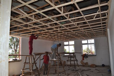 How To Build A Suspended Ceiling by Building On A Promise Holt International