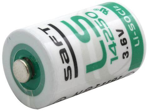 Saft Lithium Ls14250 36v Plc Battery saft ls 14250 1 2 aa 3 6v lithium battery primary