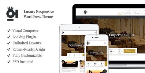 hotel theme themeforest oi hotel luxury responsive wordpress theme by oi themes