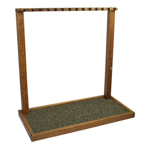 Golf Club Rack by Lot Detail Wooden Putter Club Golf Rack