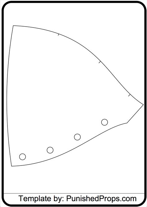 Shoulder Pattern For Costume Armor Punished Props Costumes Pinterest Shops Armors And Free Foam Templates