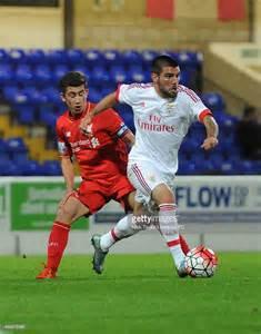Vauxhall Liverpool Fc Cameron Brannagan Of Liverpool And Pedro Rebocho Of
