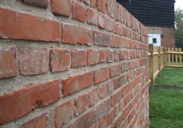 Reclaimed Brick Garden Walls Garden Walls Brickwork In Kent Southeast
