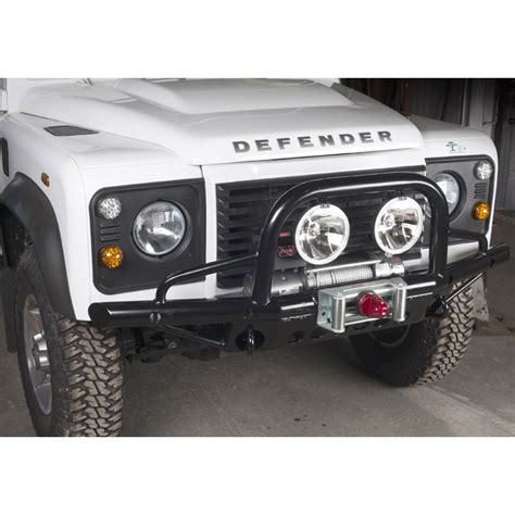 ranger defender brothers of company b books tubular winch bumper defender extended dwb1003 rovers