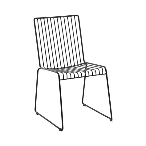 Dining Chair Hire Dining Chair Linear Black Hire Society