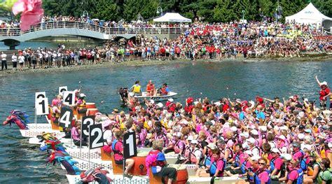 dragon boat festival nanaimo hugely popular dragon boat event opens nanaimo marine