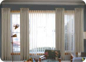Vertical Blinds For Bow Windows help picking mid century living room window treatments