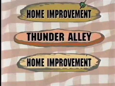 home improvement thunder alley 1994 abc promo