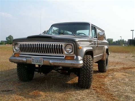 1977 jeep cherokee chief 77chief 1977 jeep cherokee specs photos modification