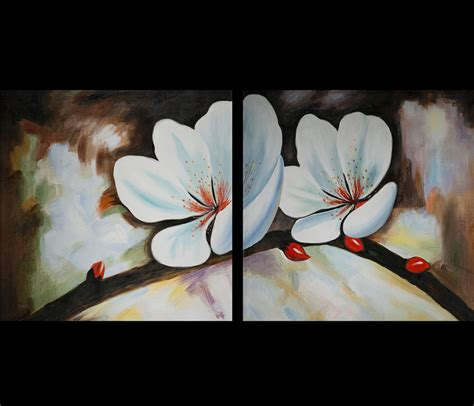 wall paintings chinese flower painting feng shui love painting modern