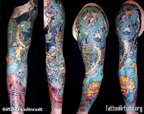tattoo cover up japan arm sleve tatoos neo japanese cover up sleevecustom