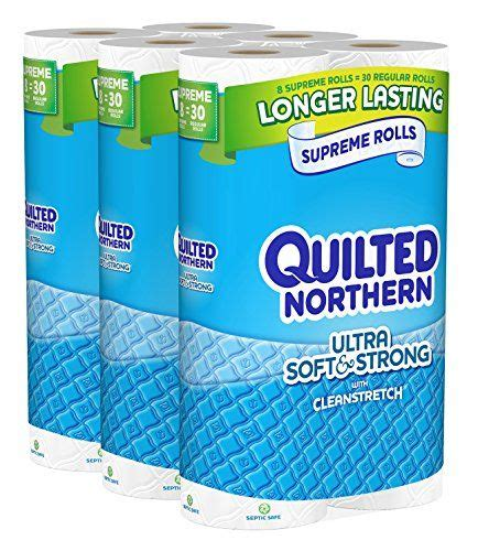quilted northern ultra soft  strong bath tissue  supreme rolls toilet paper quilted