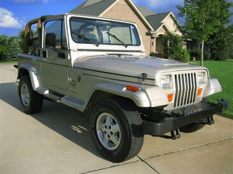 1995 jeep wrangler soft top for sale find used 1995 wrangler 4 0l automatic top