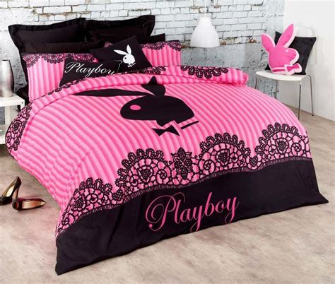 playboy bedding playboy queen size quilt doona duvet cover brand