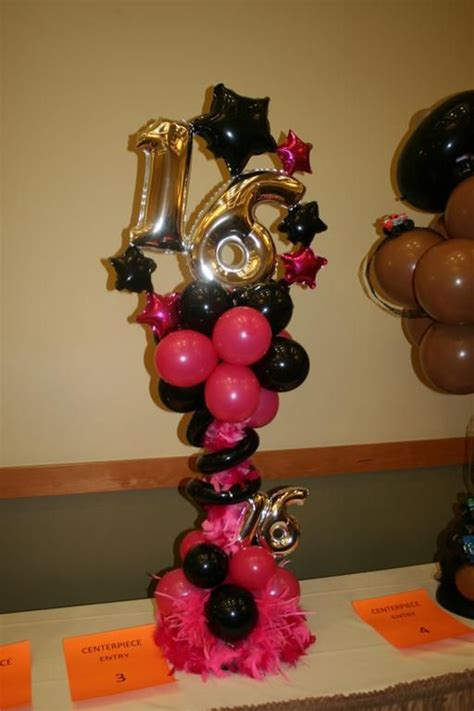 Quinceaneras Centerpieces Balloon Centerpiece With 31 Best Balloon Arches Images On Balloon Arch