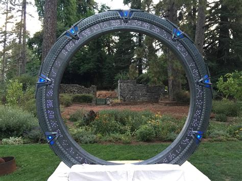 Wedding Arch Blueprint by Forget A Wedding Arch This Stargate Is Better Global