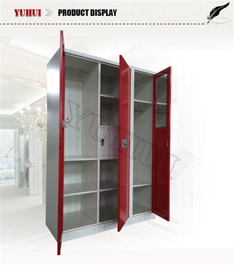 New Design Bedroom Furniture Clothes Almirah Metal