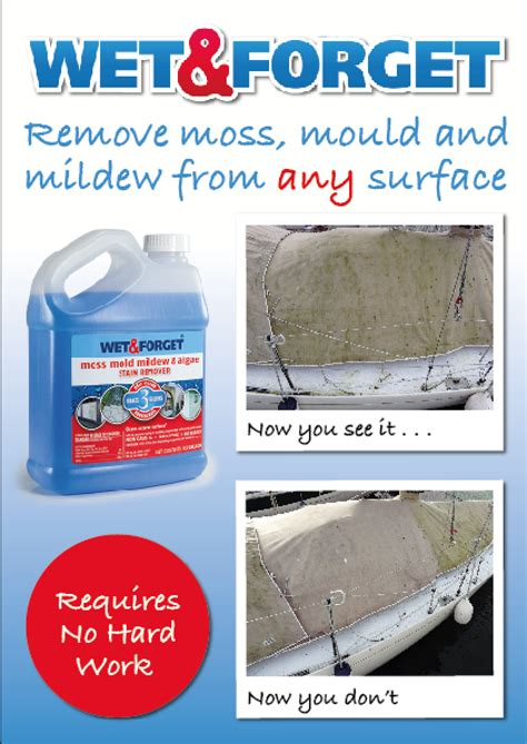 wetforget mould mildew algae remover