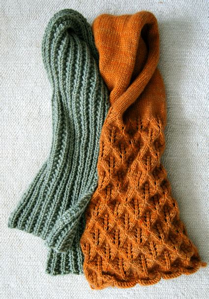 easy mistake stitch scarf purl soho create