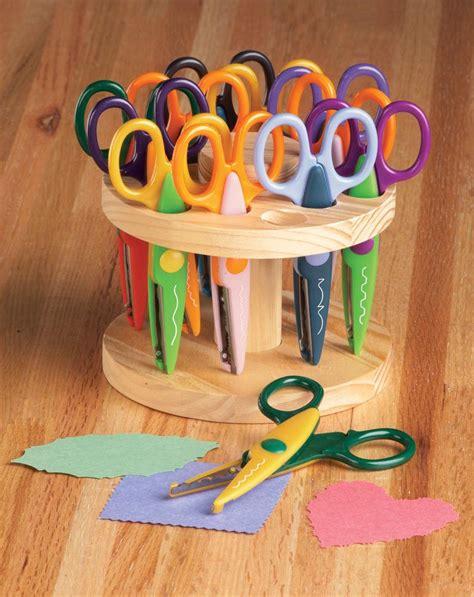 decorative edge scissors target new set of 12 colorful art craft scissors with wooden