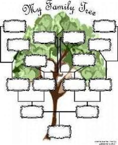 Free Family Tree Template reaper list activity sections 187 family genealogy