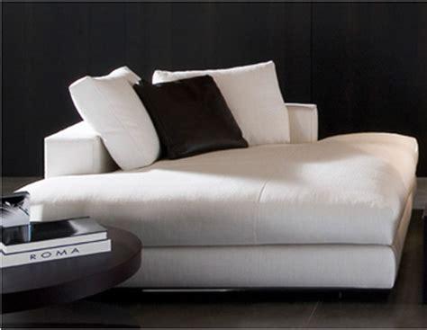 modern indoor chaise lounge minotti hamilton daybed chaise longue modern indoor