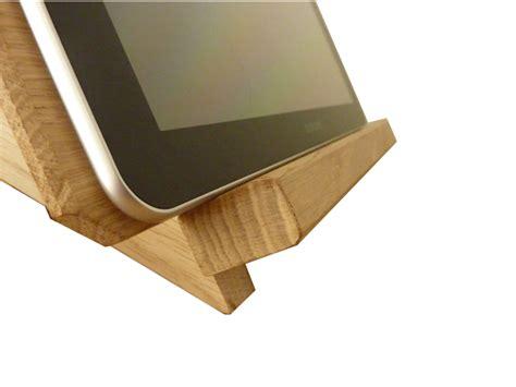 support pour tablette 2339 support pour tablette tactile petit bois brut