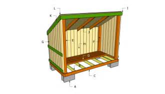 diy how to build a 3 sided wood shed wooden pdf free wood