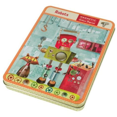 magnetic home design kit magnetic robot design set a mighty girl