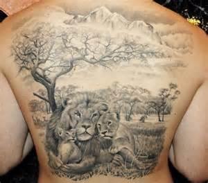 30 amazing lion and cub tattoo ideas