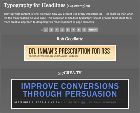 typography headlines 30 of the best web typography resources