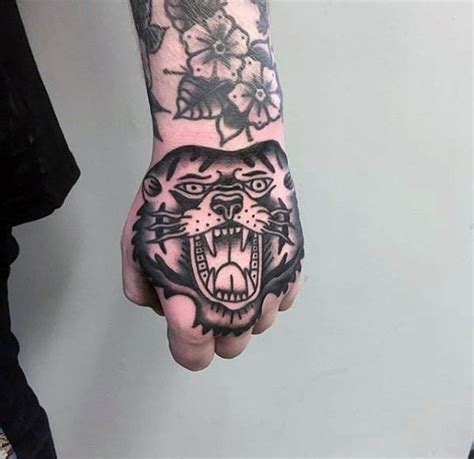 60 traditional hand tattoo designs for men retro ideas