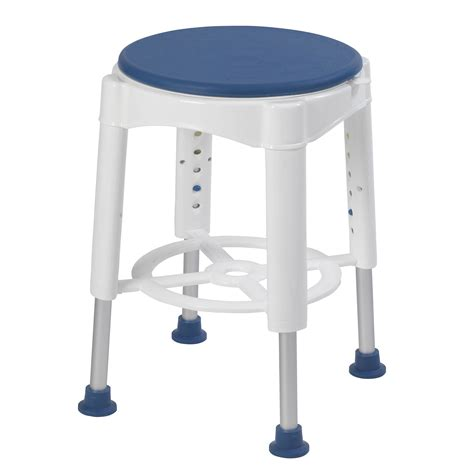 Bathroom Stools For Showers Bathroom Safety Swivel Seat Shower Stool Drive Rtl12061m Ebay