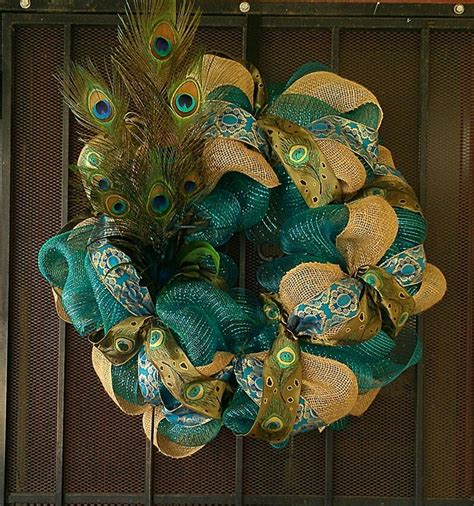 awesome peacock feather wreath decorating ideas gallery in 296 best peacock holiday images on pinterest xmas
