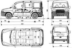 Fiat Doblo Size The Blueprints Blueprints Gt Cars Gt Fiat Gt Fiat Doblo