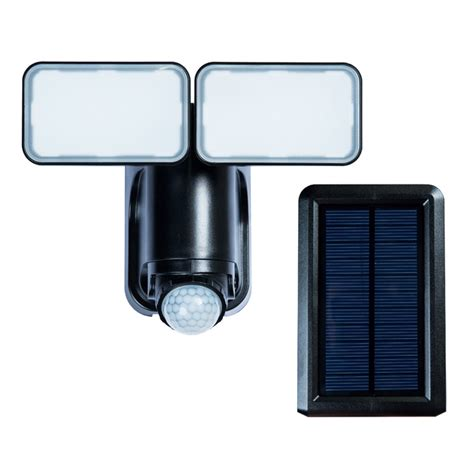 led solar security light with motion detector solar motion detector dual led security light black rona