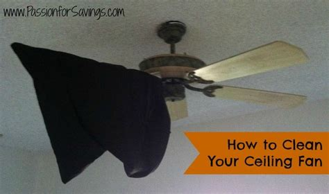 how to clean a fan how to clean your ceiling fan