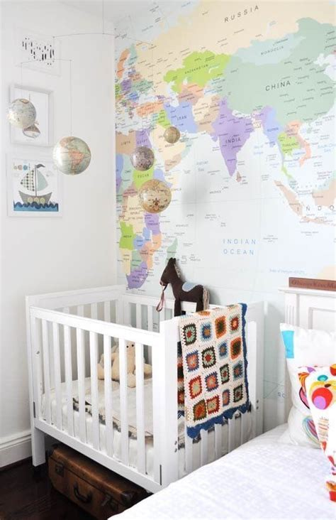 Travel Themed Nursery Decor 154 Best Images About Travel Theme Nursery On Pinterest Wall Maps Vintage Maps And Changing