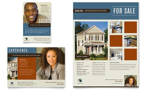 residential realtor flyer amp ad template word amp publisher