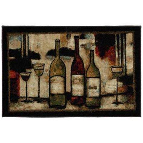 Wine Kitchen Rug by Kitchen Rugs Mats Mats Rugs Flooring The Home Depot