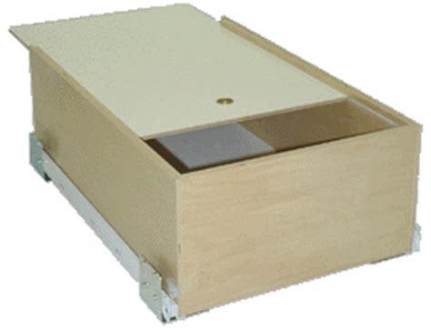 In Drawer Bread Box by Shelves That Slide Sliding Shelves