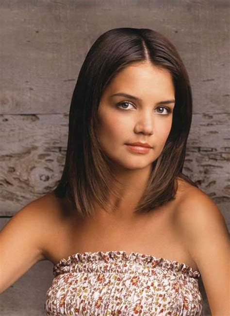 layered long bob katie holmes katie holmes bob pictures you should see bob hairstyles