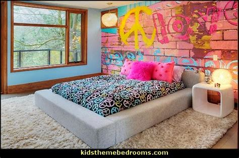 graffiti bedroom wall decorating theme bedrooms maries manor september 2014