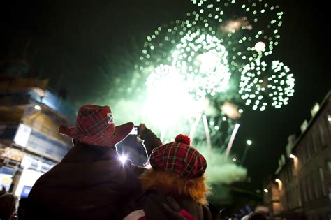 three scottish traditions for new year