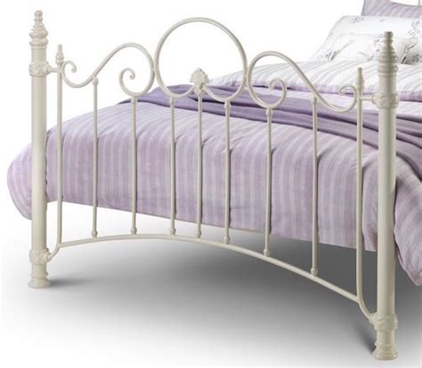 Naples Bed Frame Naples White Ornate Metal Bed Frame Sensation