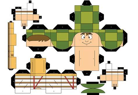 Papercraft Cubeecraft - papercraft y cubeecraft para armar taringa