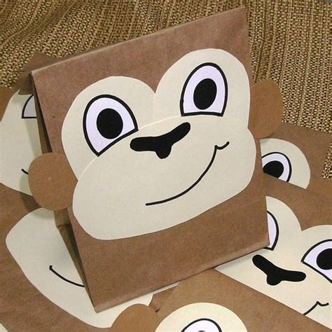 Bag Animal Monkey 160 best ideas about preschool jungle theme on