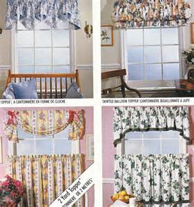 Kitchen Curtain Patterns Vintage Curtains Sewing Pattern Mccalls 733 Home Dec In A Sec